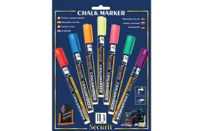 CHALK MARKER SET OF 7 COLOURS